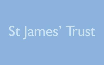 St James' Trust donation